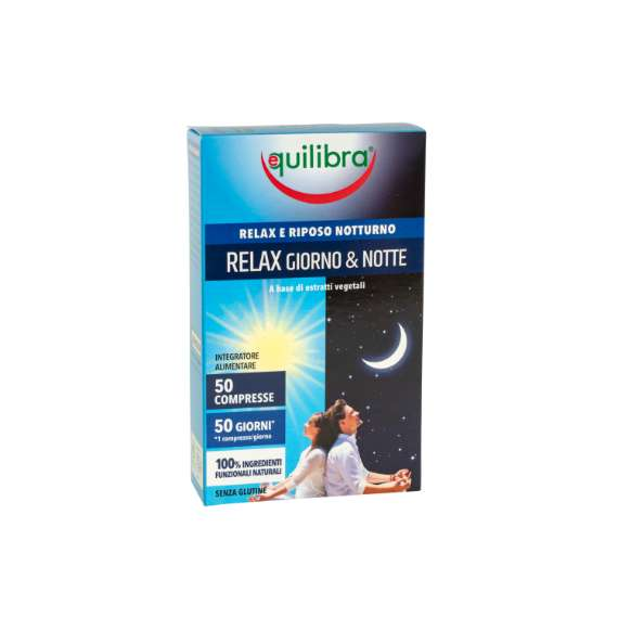 Relax Giorno & Notte Equilibra<sup>®</sup>  - 50 compresse - 20