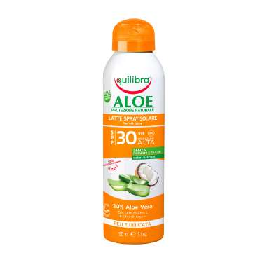 Latte Spray Solare SPF 30 Equilibra<sup>®</sup> - Bombola spray da 150 ml
